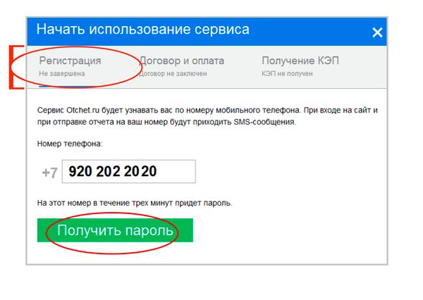 Вход через пароль на телефоне